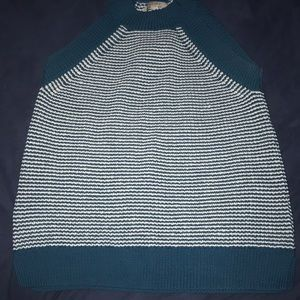 LOFT halter sweater top, only worn once